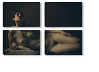 Модульная картина Ню-фото 01