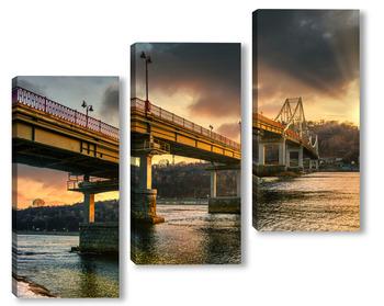 Киев,пешеходный мост