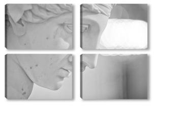 Модульная картина лицо