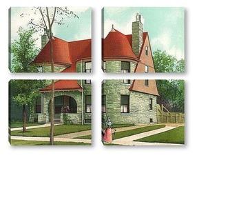 Модульная картина Architecture 13