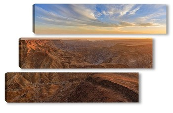 Модульная картина Fish River каньон в Намибии