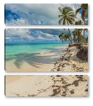 Модульная картина Райский берег