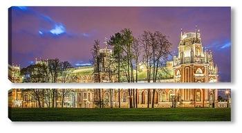 Модульная картина Панорама Большого дворца в усадьбе Царицыно