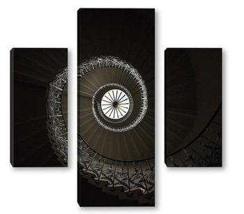 Модульная картина спирала