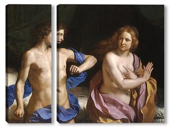 Модульная картина Амнона и Тамар