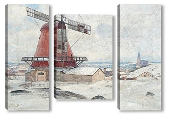 Модульная картина Ветряная мельница