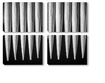 Модульная картина зубочистки