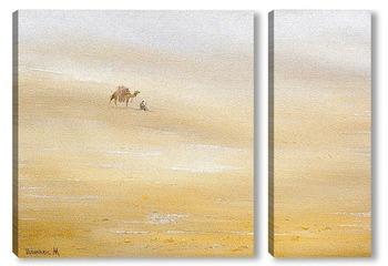 Модульная картина В пустыне