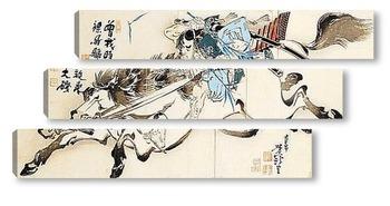 Модульная картина Taiso Yoshitoshi