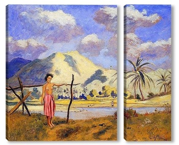 Модульная картина Самоа