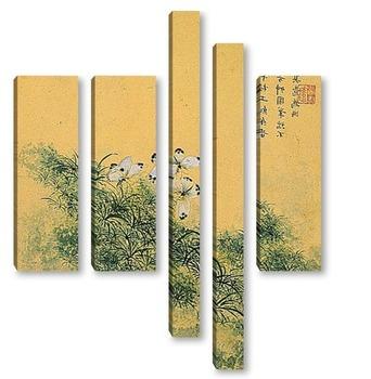 Модульная картина Zhou Xianji