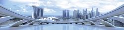 Наклейки Городская панорама