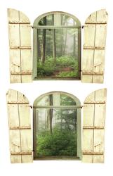 Наклейки Сказочный лес
