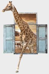 Наклейки Африканский жираф