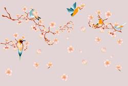 Наклейки Цветы сакуры