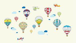 Наклейки воздушные шары