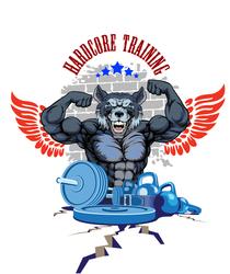 Наклейки Hardcore training