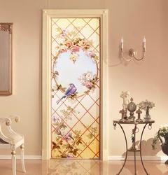 Наклейки Винтажная дверь