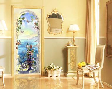 Наклейка Морской пейзаж