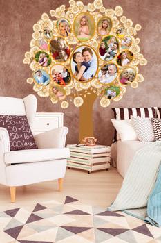 Наклейка Семейное Дерево 2