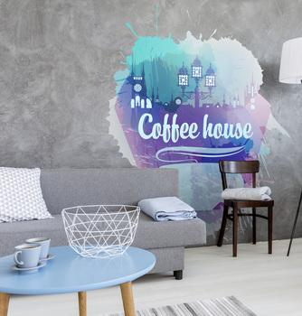 Наклейка Coffee house