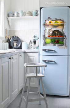 Наклейка Сюрприз в холодильнике