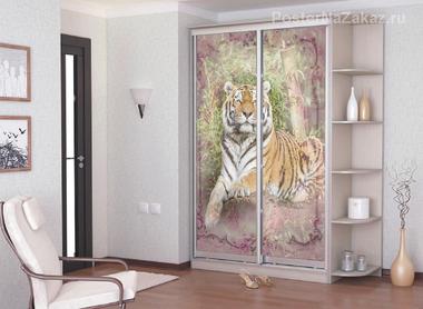 Наклейка Величественный тигр