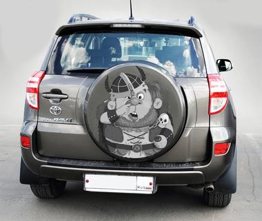 Наклейка Богатырь на машину