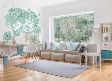 Бирюзовое дерево