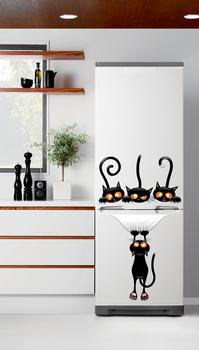 Наклейка Хитрые коты