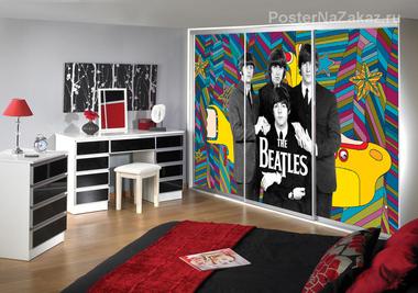 Наклейка The Beatles