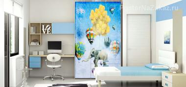 Наклейка Слон в небе