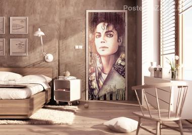 Наклейка Майкл Джексон