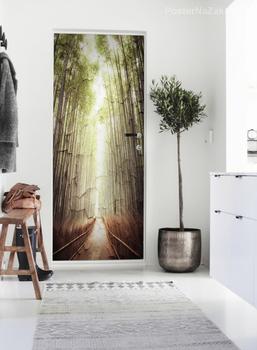 Наклейка Дорожка через лес