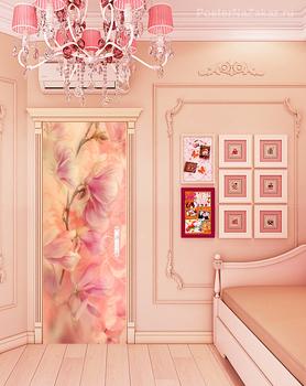 Наклейка Цветущая орхидея