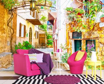 Фотообои на стену Уютная улочка Испании