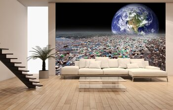 Фотообои Тема загрязнения Земли
