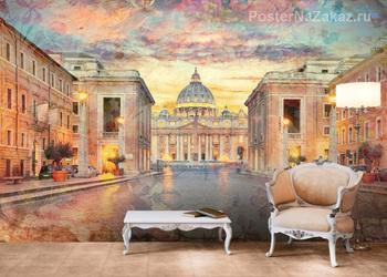Фотообои Рим, Ватикан