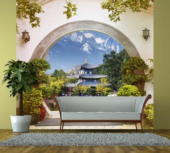 Фотообои на стену Японский пейзаж