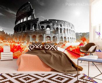 Фотообои Колизей в цветах