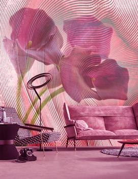 Фотообои Фиолетовая калла