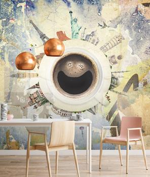 Фотообои Мировая кружка кофе