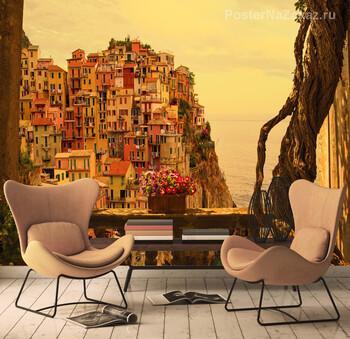Фотообои Вид на город