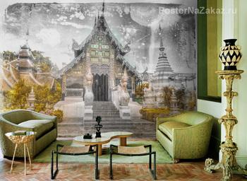 Фотообои храм в Чианг май