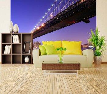 Фотообои Нью-Йорк. Под мостом
