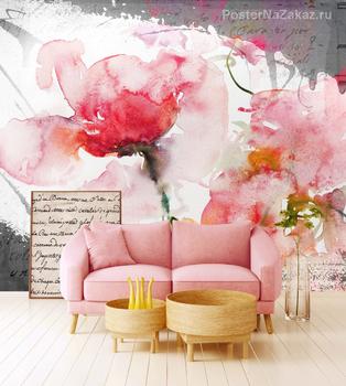 Фотообои Тюльпаны арт