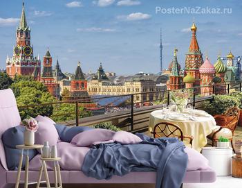 Фотообои Вид на Москву