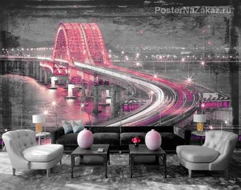 Фотообои Мост Banghwa в Корее