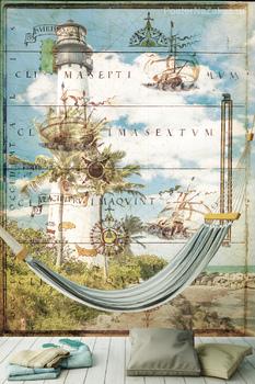 Фотообои Знаменитый маяк в Ки-Бискейне, Майами