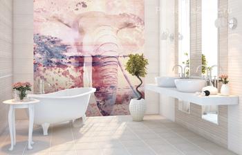 Фотообои на стену Ваза с цветами